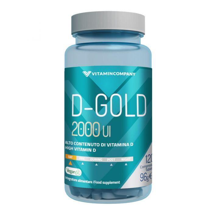 "Vitamina D ""D-Gold 2000"" - VitaminCompany"